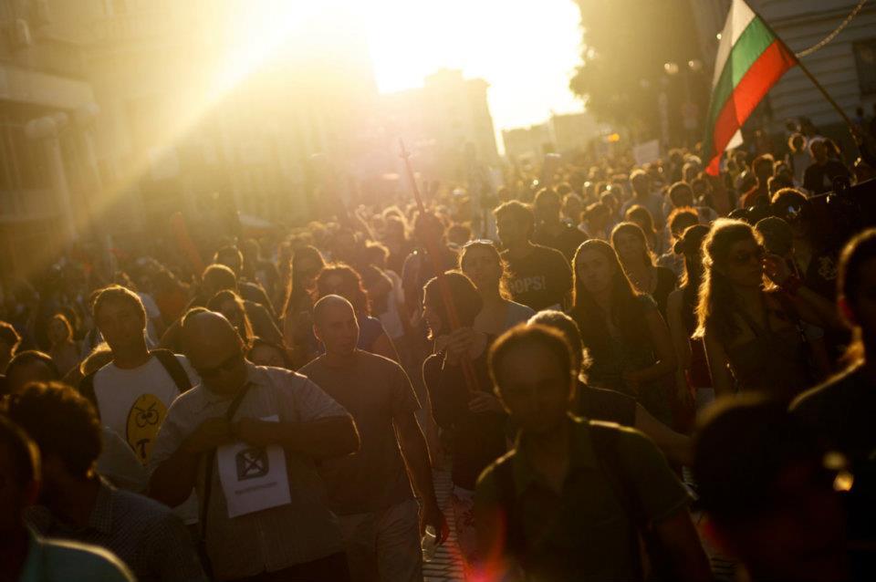 Лицата на протеста. (р)Еволюция!