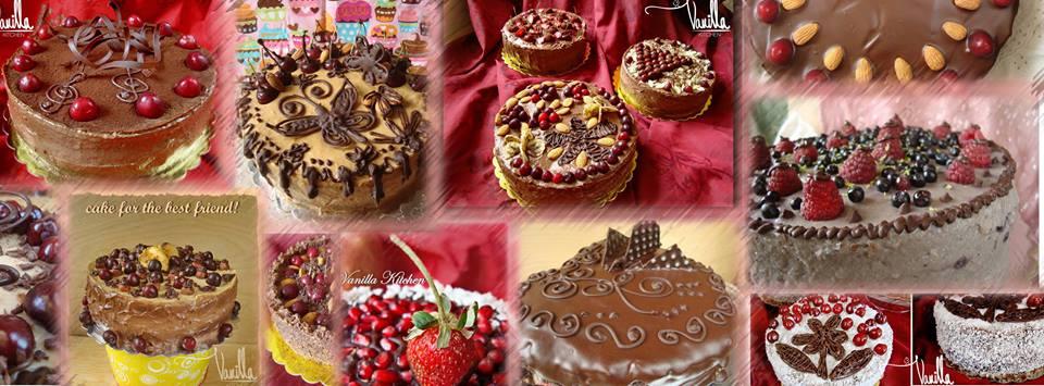 Истински торти с натурални продукти от Vanilla Kitchen