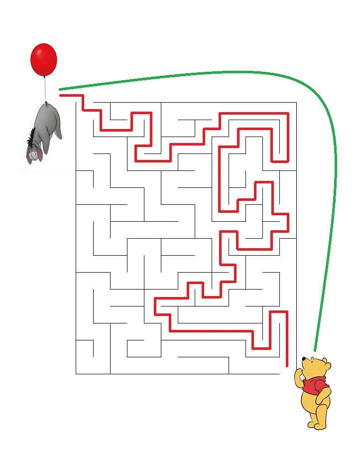 Решение извън лабиринта